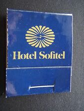 HOTEL SOFITEL PHILIP MORRIS SUPER LIGHTS MATCHBOOK