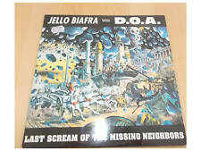 Jello Biafra With D.O.A. -  Last Scream Of The Missing Neighbors -  LP