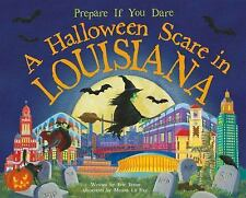 A Halloween Scare in Louisiana by Eric James (2014, Picture Book)