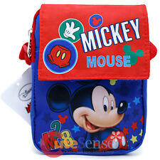 Disney Mickey Mouse Waist Fanny Bag Shoulder Body Cross Passport Mini Messenger