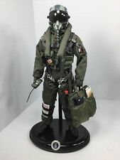 1/6 DRAGON F-15 EAGLE MODERN FIGHTER PILOT+STAND+RADIO+FLIGHT BAG DID BBI RC