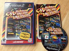 Midway Arcade Treasures Ps2 Game! Complete! Look In The Shop!