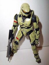Halo 3 Series 3 **OLIVE ROGUE SPARTAN** Figure 100% Complete w/ Shotgun!!