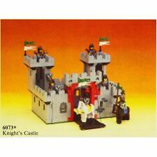 LEGO 6073 Knights Castle Used 100% complete with instructions but without box.