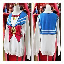 Harajuku Sailor Moon Sweatshirt Bowknot LOLITA LADY Mädchen Hoodies Pullover