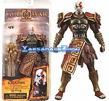 "God of War 2 Kratos in Ares Armor 7""Action Figure Box Damaged"