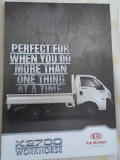 Kia K2700 brochure c2010 South African market