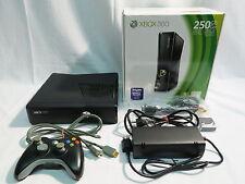 Xbox 360 - Konsole Slim 250 GB, schwarz-matt