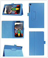 "Leather Holder Pouch Case Cover For 7"" Lenovo Tab3 7 Essential 710F Tablet"