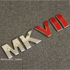 MKVII Chrome Red Boot Tailgate Emblem Badge Sticker Golf MK7 Mark 7 GTI R VW *
