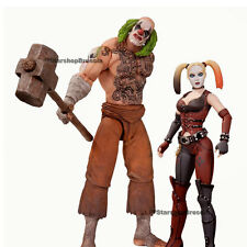 BATMAN - Arkham City - Mr. Hammer & Harley Quinn Action Figure 2-Pack Dc Direct