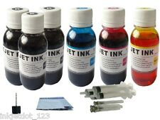 Refill ink kit for Canon MP270 MP280 MP495 PGI-210 6x100ml