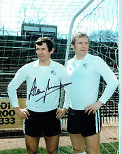 Alan MULLERY SIGNED Autograph 10x8 Spurs Photo with Bobby Moore AFTAL COA