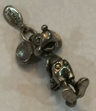 Authentic Vintage 925 Sterling Silver 3D Mickey Mouse Walt Disney Detailed Charm
