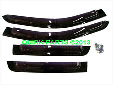 11-17 Grand Cherokee SIDE WINDOW AIR DEFLECTORS FRONT & REAR SET 4 OEM NEW MOPAR