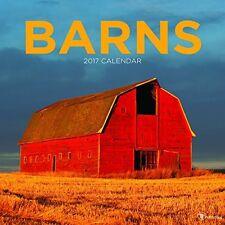 2017 Barns Wall Calendar 11.8 x 0.2 x 11.8 inches
