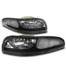 1997-2004 CHEVY CORVETTE C5 Z06 BLACK FRONT BUMPER PARKING SIGNAL LIGHT LAMP NEW