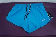 NEW MENS NIKE 2 TEMPO SPLIT SHORTS SZ L [644228 413]