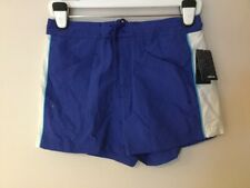 NWT WOMEN ATIVA PERFORMANCE SHORTS TEAL BLUE SIZE SMALL