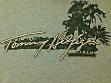 VINTAGE TOMMY HILFIGER EMBROIDERED T SHIRT XL (MEASURES AS XXL)