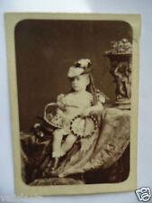 PHOTO PETITE FILLE XIXème SIECLE