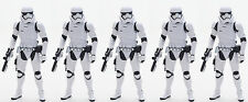 """LOt 5 STAR WARS THE BLACK SERIES FIRST ORDER STORMTROOPER 6"""" INCH ACTION FIGURE"""