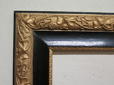 ANTICA CORNICE STILE LIBERTY ART NOUVEAU 31x46 DORATA ORO GILDED FRAME R112