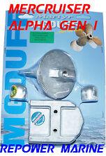 Anode Kit for Mercruiser MR, Alpha Gen 1, High Quality MG Duff, 888756Q04