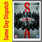 SONS OF ANARCHY COMPLETE SEASON SERIES 5 DVD box set NEW & SEALED Fifth Five