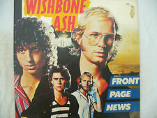 WISHBONE ASH LP FRONT PAGE NEWS mca 3524