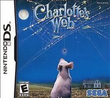 Charlotte's Web (Nintendo DS, 2006) NEW Ships Free!