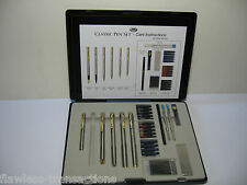 JML As Seen on TV Classic Pen Set with 66-Piece Refill, Case and Instructions