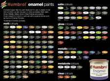 HUMBROL ENAMEL PAINT SMALTO 14ml - 16 GOLD METALLIC - NUOVO