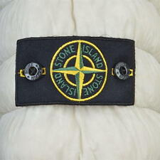Brand New Stone Island Badge With High Gloss Buttons For All Garments  UK Seller