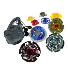 New Top Metal Master Rapidity Fight Rare 4D Launcher Grip Set Beyblade Toy