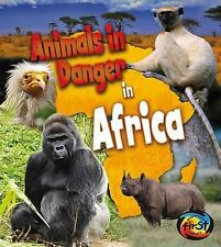 Animals in Danger in Africa-ExLibrary