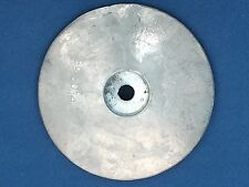 ANODE Rose Round Zinc 1080g 125mm. For Boat/Sailing Hull,Rudder or Trim Tabs