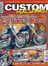 CUSTOM MACHINES 16 HONDA 125 Shadow YAMAHA 1200 VMAX HARLEY DAVIDSON XL 883 1200