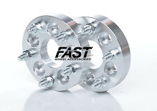 2pc 5x100 to 5x114.3 Wheel Spacer Adapters 5 Lug 1 Inch Thick 57.1 Center Bore