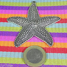 3 Colgantes Estrella de Mar 65mm  M797  Plata Tibetana Beads Pendants Sea Star