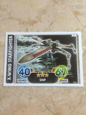 STAR WARS Force Awakens - Force Attax Trading Card #077 X-Wing Starfighter