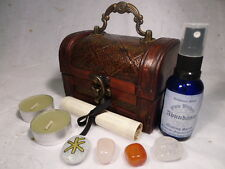 ABUNDANCE RITUAL CHEST spell kit wiccan pagan magic wealth millionaire success