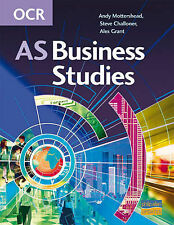 OCR AS Business Studies, Mottershead, A., Grant, A., Challoner, Steve, Very Good