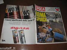 EPOCA 1970/1026=ROMA SPORCA=BEETHOVEN=KLAUS DI BIASI GIORGIO CAGNOTTO=CASALS P.=