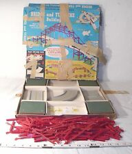 KENNER BRIDGE AND TURNPIKE BUILDING NO. 5 TOY SET 1960s BOXED
