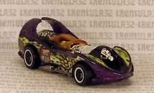 Highway 35 World Race ROADBEAST POWER ROCKET PURPLE YELLOW HOT WHEELS LOOSE