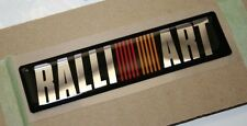 New Mitsubishi Lancer RALLIART Emblem Badge Sticker Original OEM
