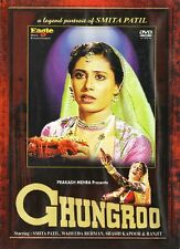 GHUNGROO (SHASHI KAPOOR, SMITA PATIL) - BOLLYWOOD DVD