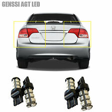LED Tail Light Bulb Upgrade for Honda Civic 4D 2008-2012 (4pcs Stop Brake Back)