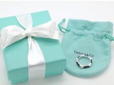 Tiffany & Co. NEW Black 5X Signature Ring size 7